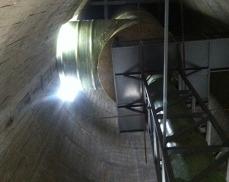 生产大型玻璃钢烟囱