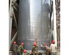 大型玻璃钢烟囱工作温度