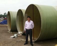 华新水泥(渠县)有限公司玻璃钢烟囱