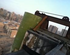 大型玻璃钢烟囱